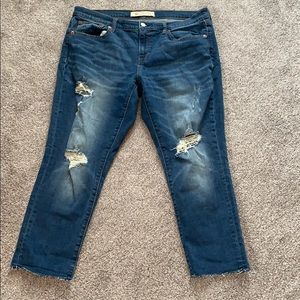 Gap Perfect Girlfriend Ankle Jeans